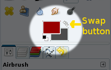 colour swap button