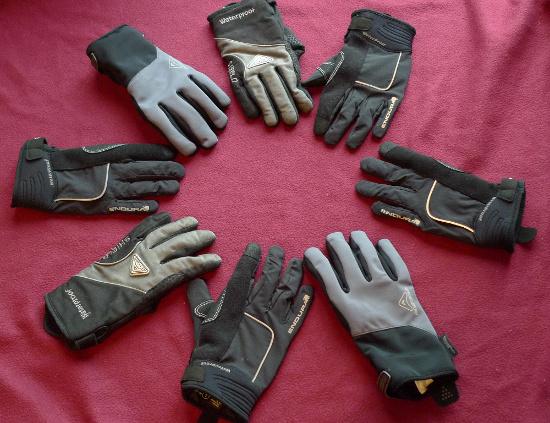 Circle of gloves